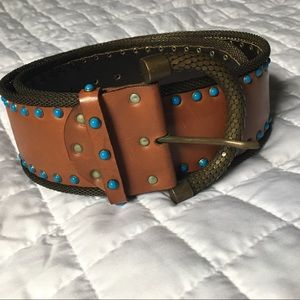 Designer Nanni belt. Made in Italy